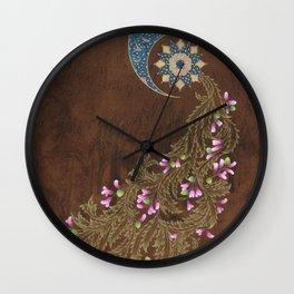 Cercis siliquastrum Wall Clock