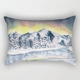 Winter Star Rectangular Pillow