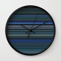 avatar Wall Clocks featuring Avatar by rob art | simple
