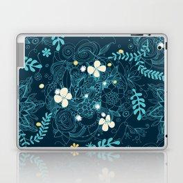 Dark floral delight Laptop & iPad Skin