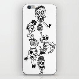 Bone Heads iPhone Skin
