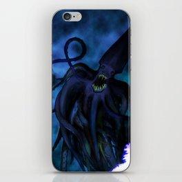 Squid Wizard iPhone Skin