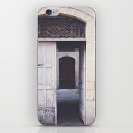 Cottage Doors in Bayeux iPhone Skin