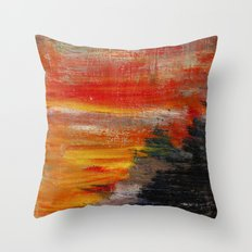 Lack of Life Throw Pillow