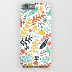 Forest Flora Slim Case iPhone 6s