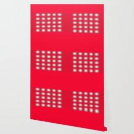reddish square with white squares inside Wallpaper