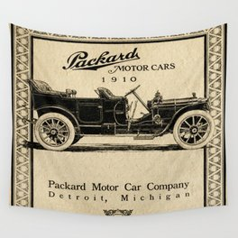 Pachard - Vintage Poster Wall Tapestry