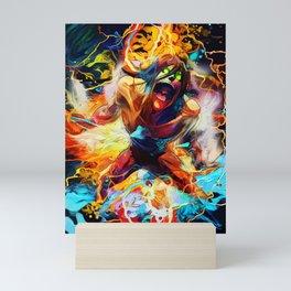 Anger Attack Mini Art Print