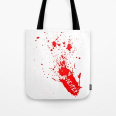 Dexter  |  Blood Spatter Tote Bag