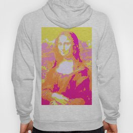Monna Lisa in Pink/Yellow Hoody