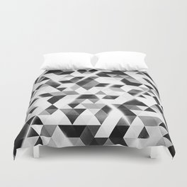 amped (monochrome series) Duvet Cover