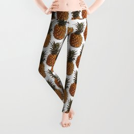 Pineapple Pattern Vector Leggings