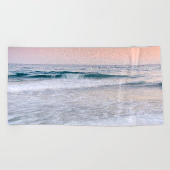 """""""Pink sunset"""". Summer dreams.... Beach Towel"""