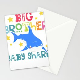 Big Brother of Baby Shark Stationery Cards