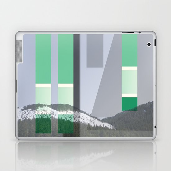 Rolling Through The Pines Laptop & iPad Skin