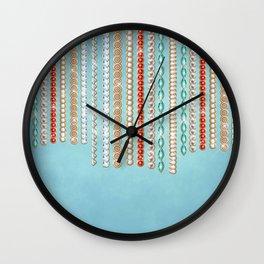 Boho Jewels Wall Clock