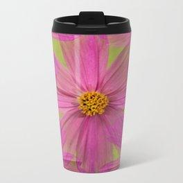 Endless Pink Cosmos Travel Mug