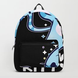 Meowgical Kittycorn Unicorn Cat Lover Backpack