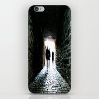 silhouette iPhone & iPod Skins featuring Silhouette by Kim Ramage