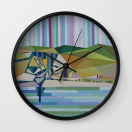 Coorong Lagoons and Murray Mouth Inverse Estuary Wall Clock