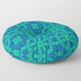 Green Knots Floor Pillow