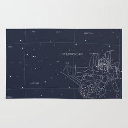 Starscream Star Chart Rug