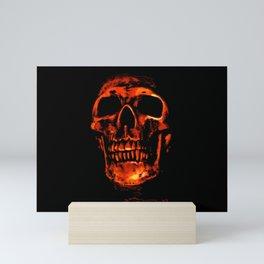 Death in Red Mini Art Print