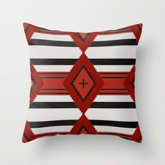 Chief Blanket 1800's Throw Pillow