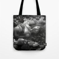 macaroon Tote Bags featuring Macaroon by Louten