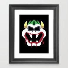 Joke's On You Bowser Framed Art Print