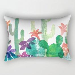 Blooming Desert Rectangular Pillow
