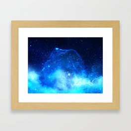 Jelly Nebula Framed Art Print