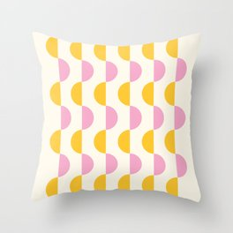 Sunrise to Sunset (bright) Throw Pillow