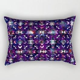 Purple Galaxy Quilt Rectangular Pillow