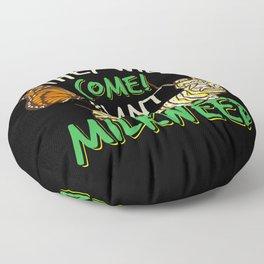 Butterfly Animal - Got Milkweed Gift Floor Pillow
