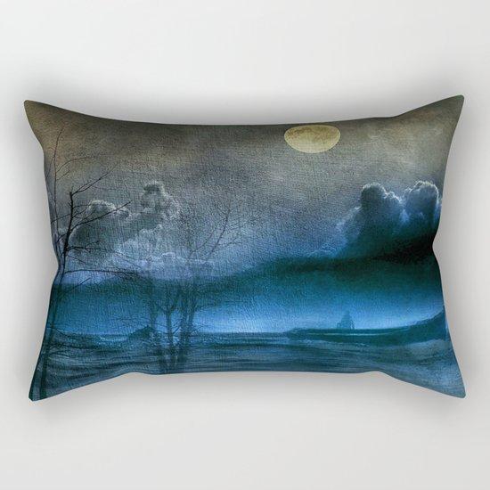 Trip in the dark II Rectangular Pillow