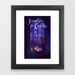 I Capture the Castle Framed Art Print