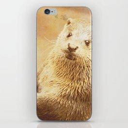 Vintage Animals - Otter iPhone Skin
