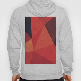 Abstract geometric patter.Triangle background Hoody