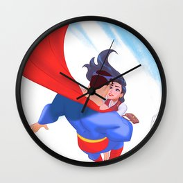 Lois&Clark Wall Clock