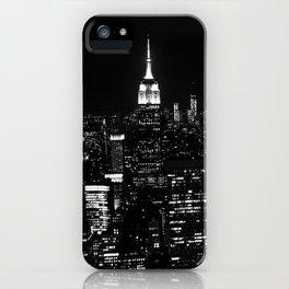 New York City B&W iPhone Case