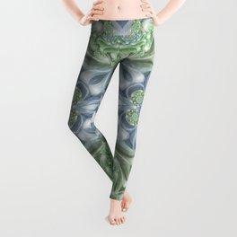 Shades of Green Mandala Leggings
