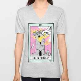 The Cards Say Smash the Patriarchy Unisex V-Neck