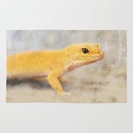 Portrait of a Leopard Gecko Rug