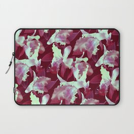 Crimson Orchid Laptop Sleeve