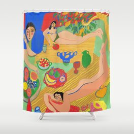 Rays of Summer Shower Curtain