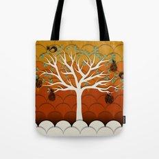 Fruits Talk White Tote Bag