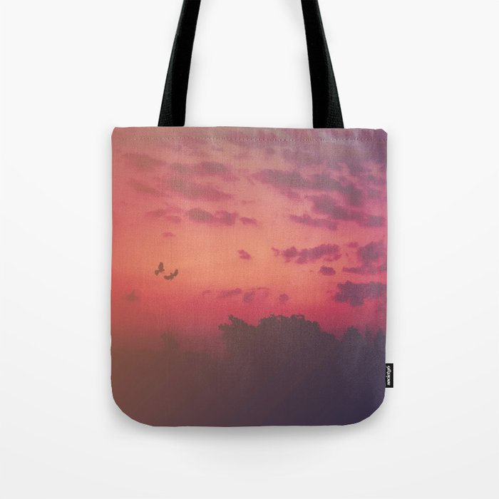 Love Runs Out Tote Bag