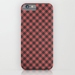 Lumberjack Flannel iPhone Case