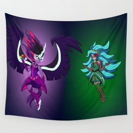 Midnight Sparkle VS Gaia Everfree Wall Tapestry